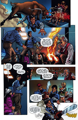 Army of Darkness Ash's Christmas Horror Graphic Novel 15