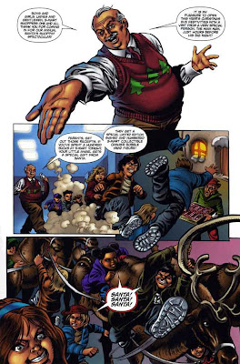 Army of Darkness Ash's Christmas Horror Graphic Novel 4