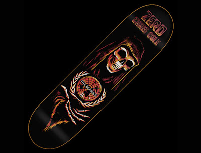 Chris Cole Battle Commander Skateboard Deck