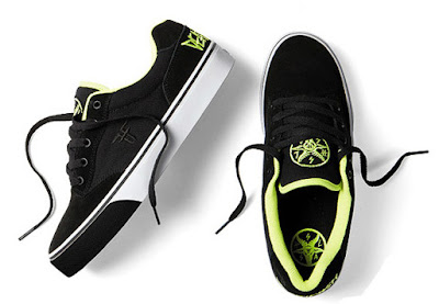 Fallen Skateboards and Deathwish Collaboration Skate Shoes
