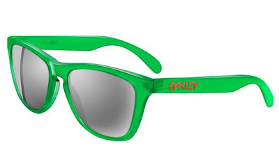 Oakley Frogskin Limited Edition Light Green Colorway Sunglasses