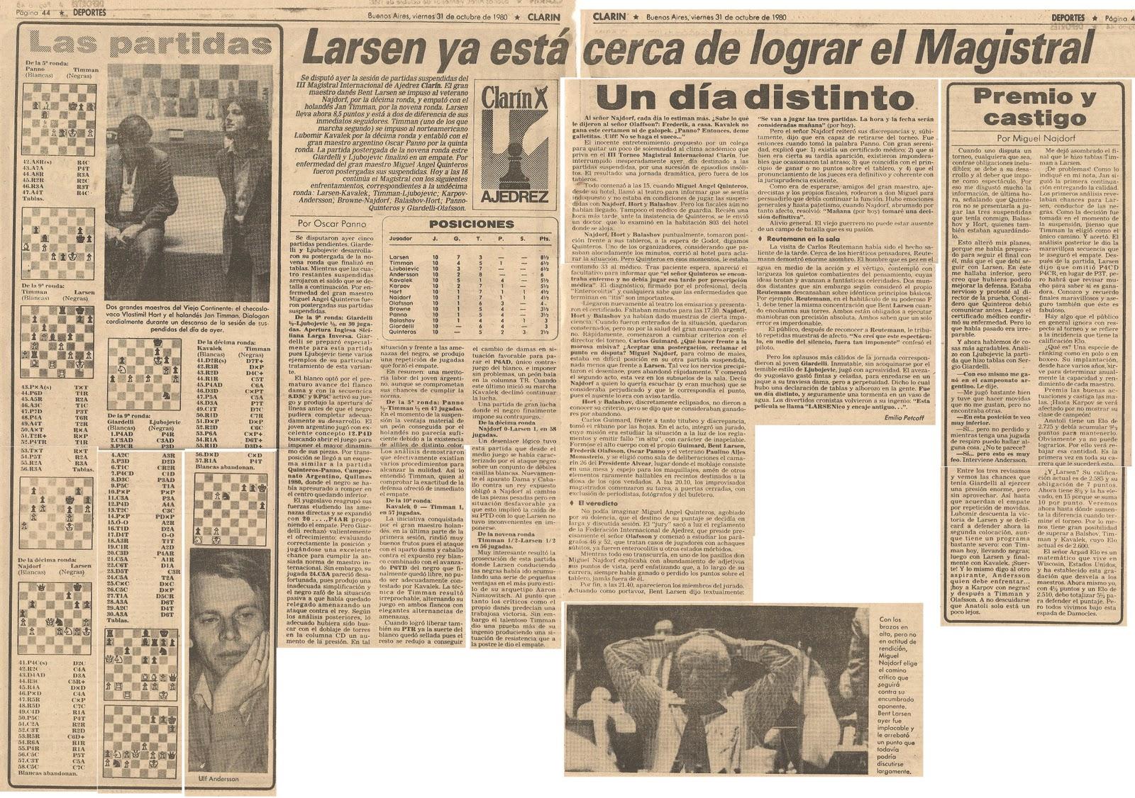 25 octubre 1980: