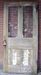 """1800's Entry door 36"""" x 76"""" - $300"""