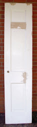 "17 7/8"" x 79"" pantry door w/glass knob"