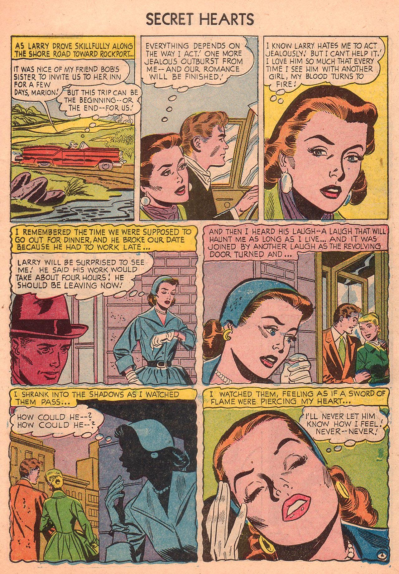 Read online Secret Hearts comic -  Issue #23 - 27