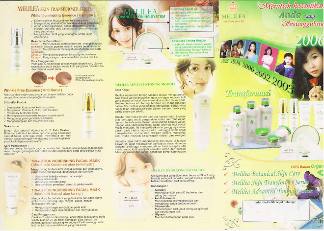 MELILEA SKIN TRANSFORMER SERIES & ADVANCED TONING SYSTEM