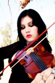 un momento con mi violín