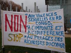Rassemblement contre les droits fondamentaux en RD Congo