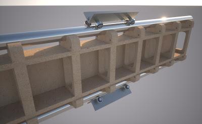 CNC łożysko liniowe DIY