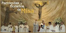 Consulta las parroquias y los horarios de misas más cercanos