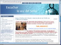 Página web de Escuchar la Voz del Señor