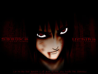 sasuke wallpapers desktop- naruto anime wallpaper