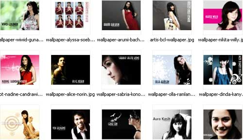 wallpaper artis indonesia