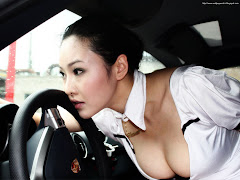 Sexy Women On Car