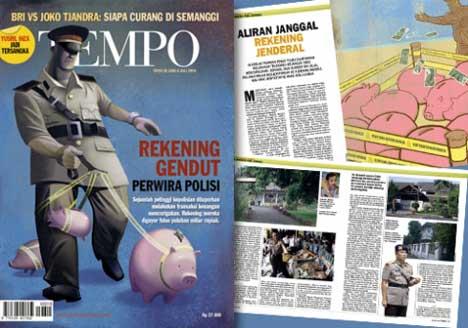 Isi Majalah Tempo Edisi 28 Juni - 4 Juli 2010