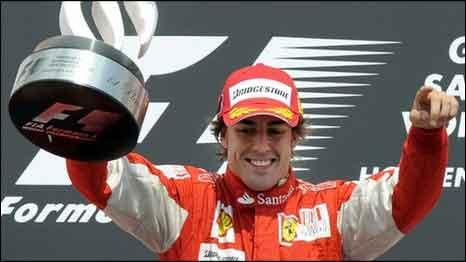 Hasil  GP Jerman 2010 - Alonso Juara Balapan Fromula 1