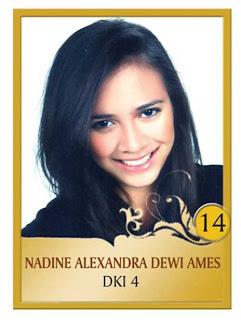 foto foto seksi hot Nadine Alexandra Pemenang Puteri Indonesia 2010