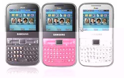 Harga Samsung Ch@t 322 Spesifikasi
