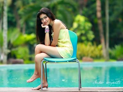 Foto Cantik Melody Prima