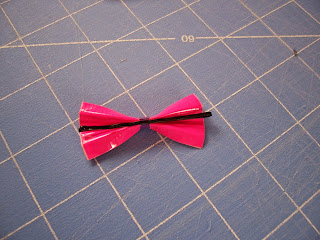 cute duct tape bows tutorial