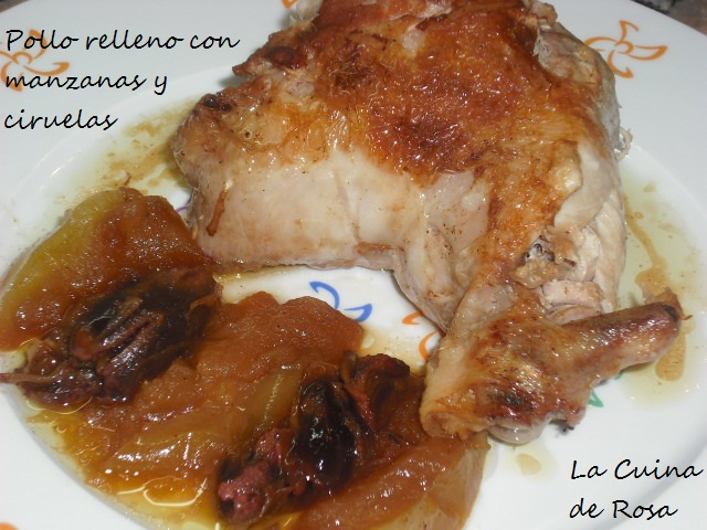 guarnicion pollo relleno: