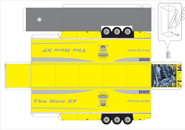 Схемы как сделать грузовик