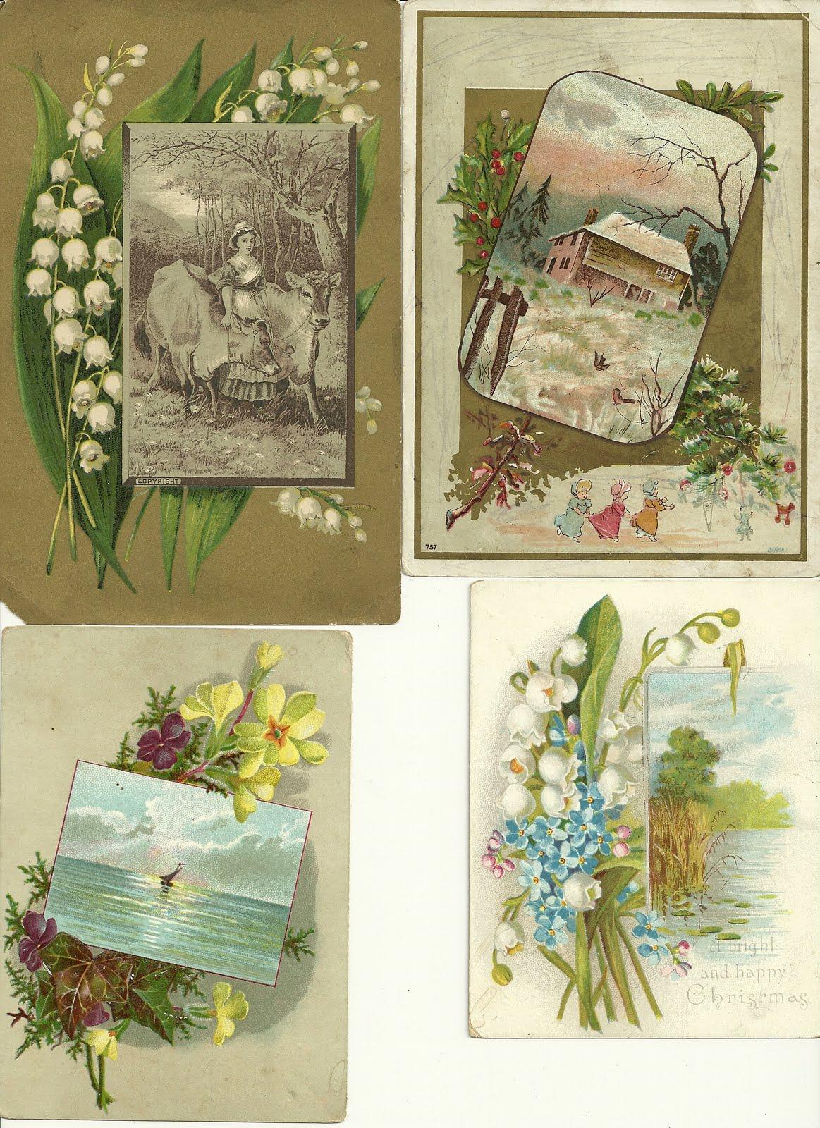 Heirlooms reunited victorian era greeting cards signed by emily may victorian era greeting cards signed by emily may macgregor m4hsunfo
