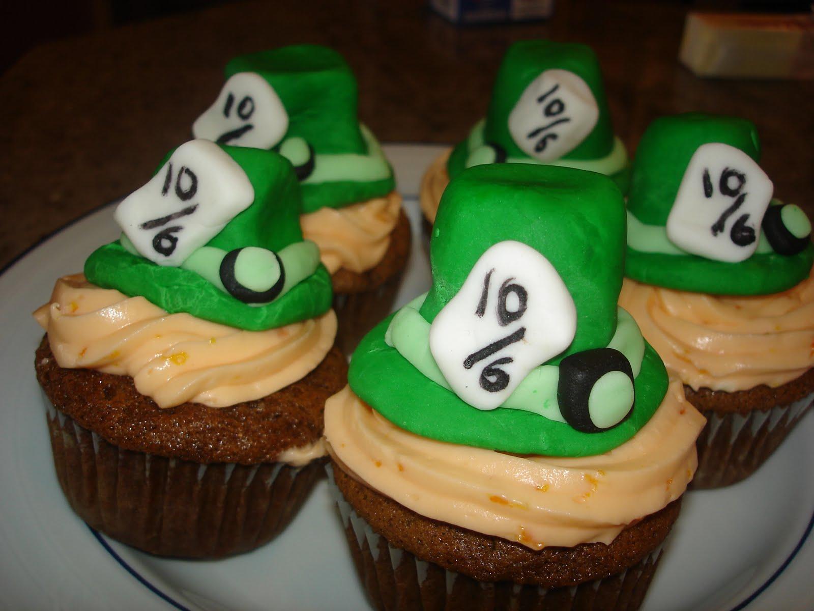 Easy Alice In Wonderland Cupcakes