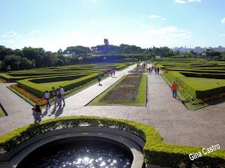 Passeio de blogueiras no Jardim Botânico de Curitiba