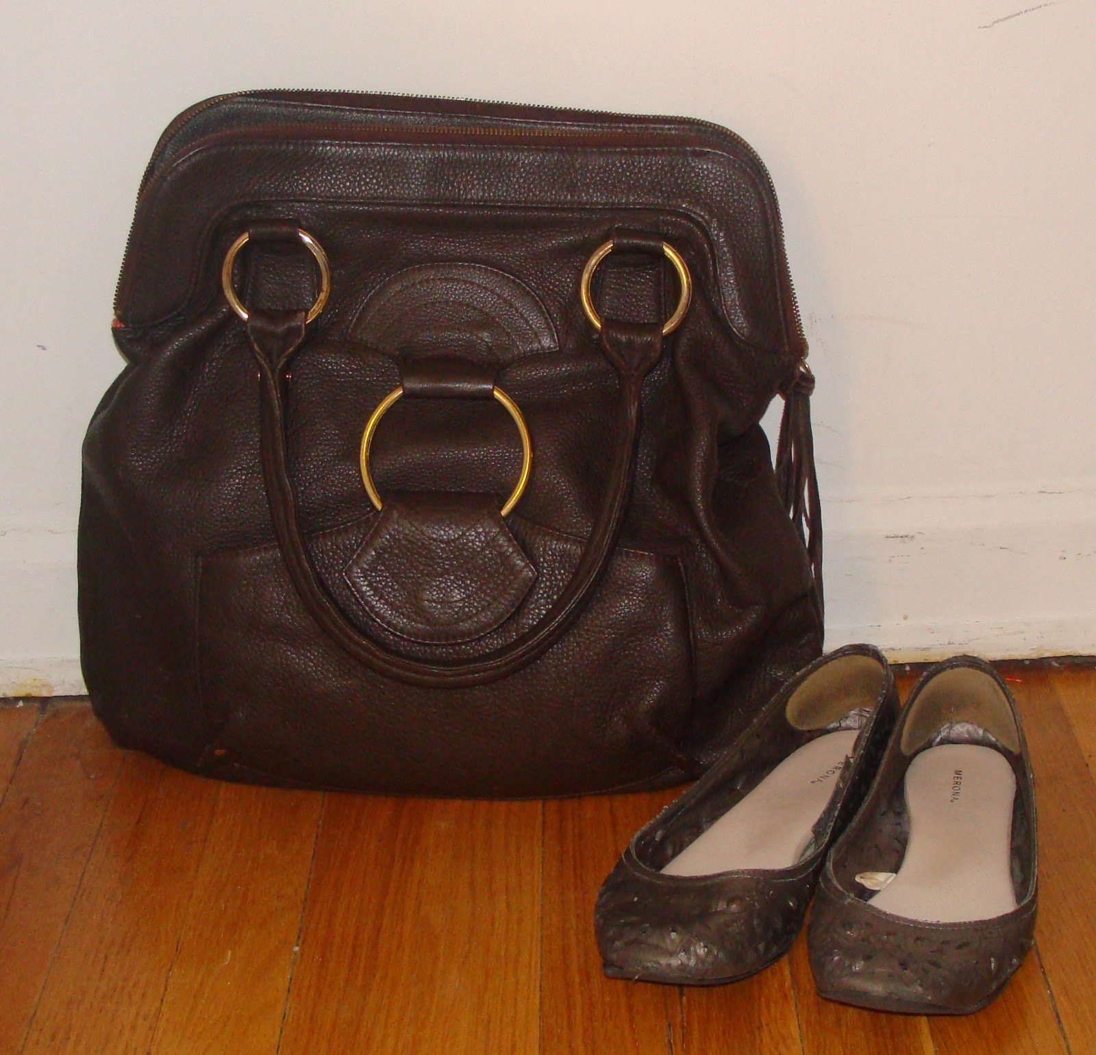 Brown Leather Merona Shoes