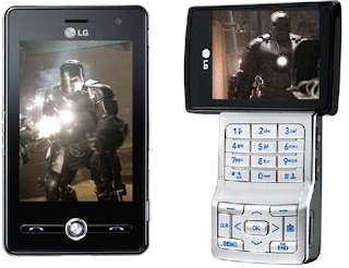 "Cell Addict Blog: LG Phones to be Used in the Movie ""Iron Man"""