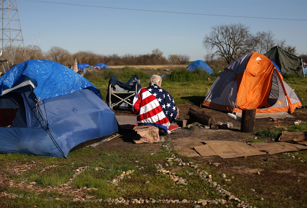 Homeless American