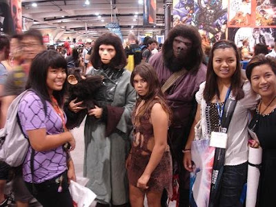 Planet of the Apes Costumes at Comic Con