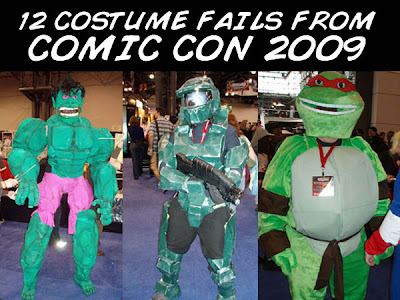 Funny Costumes from Comic Con.