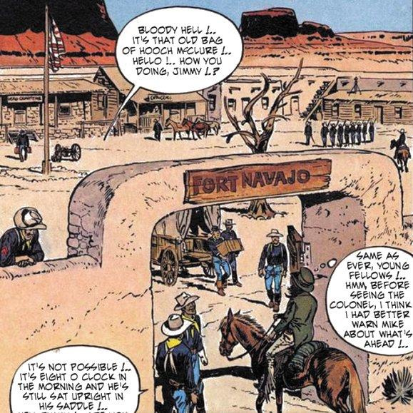 Enciclopedia visual del teniente blueberry fort navajo az for Teniente blueberry