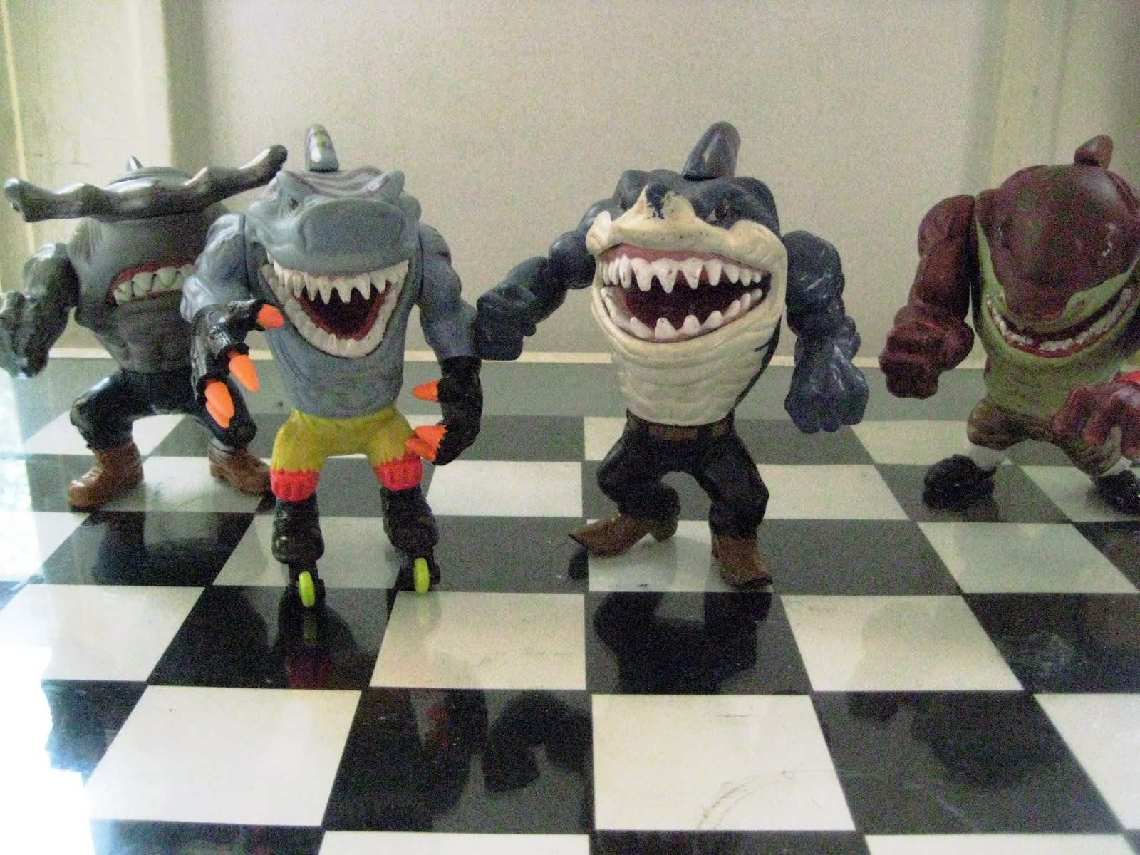 Street Sharks Toys : Don d world toys