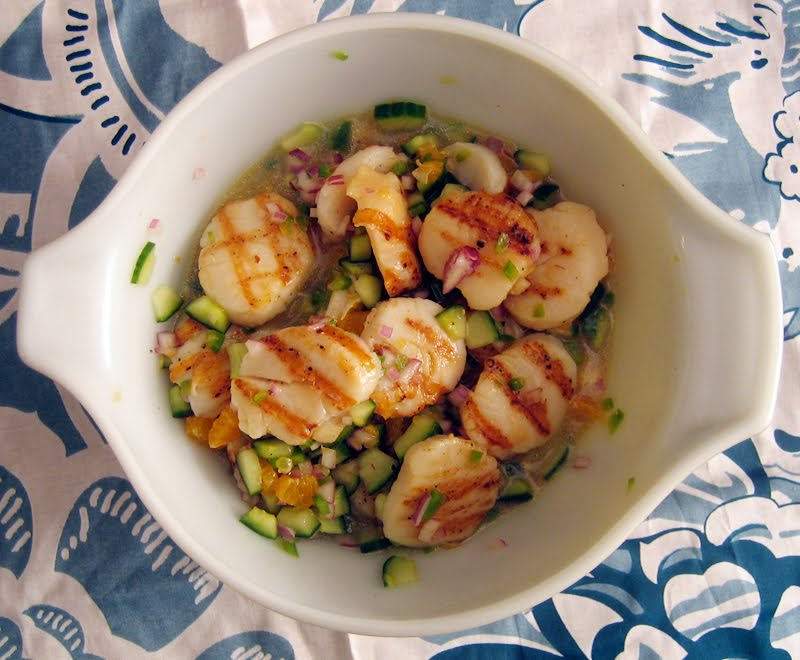 grilled scallop ceviche | Everybody Likes Sandwiches
