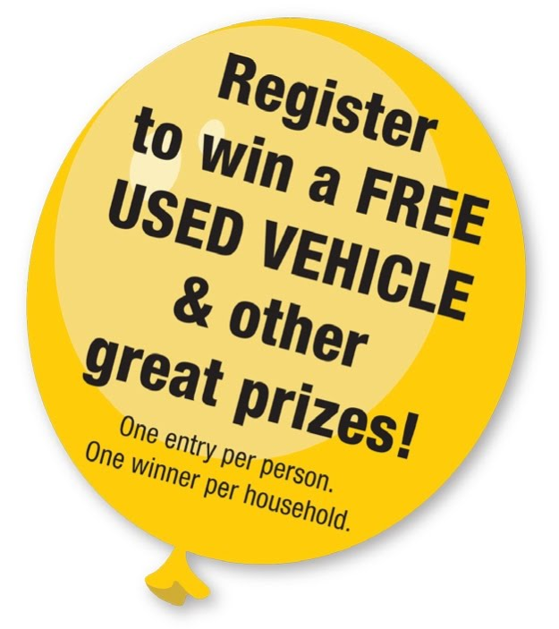 Markley Motors Corner Free Used Car Giveaway