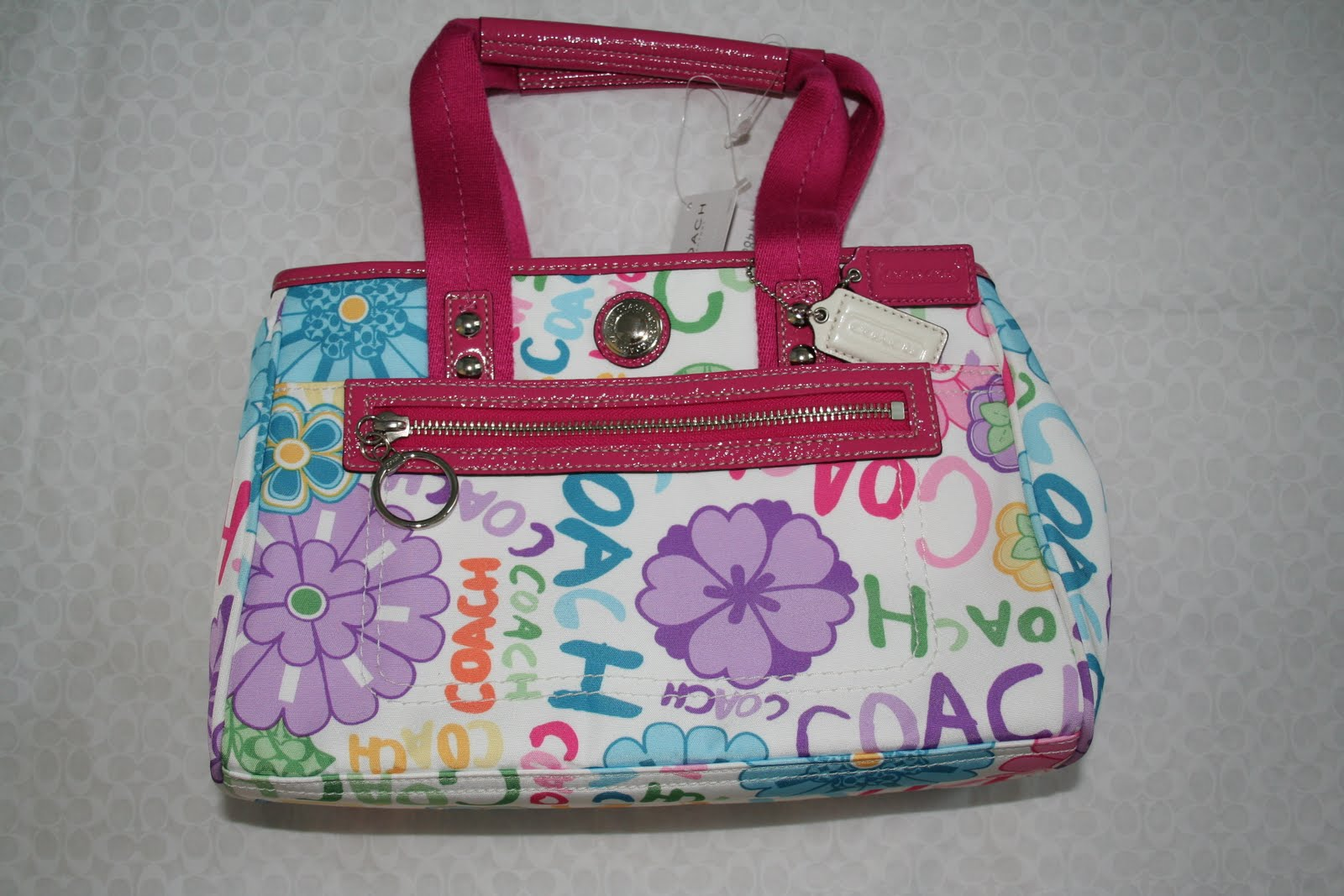 Luxury Bags For Sale Nwt Coach Daisy Flower Tote 14882