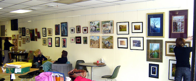 Green Valley Artists at the Dryden Cafe