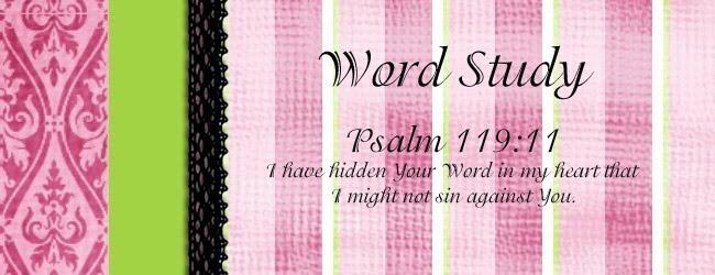 Creative Bible Word Study Challenge