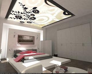 Ferforje catılı yatak odası yatağın başına yapılan ferforje