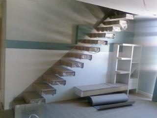 merdiven çeşitleri - Tek taraflı merdiven