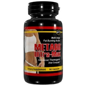 Metabo Ultra-Max Extreme Fat Burner Diet Pills - 60 Caps