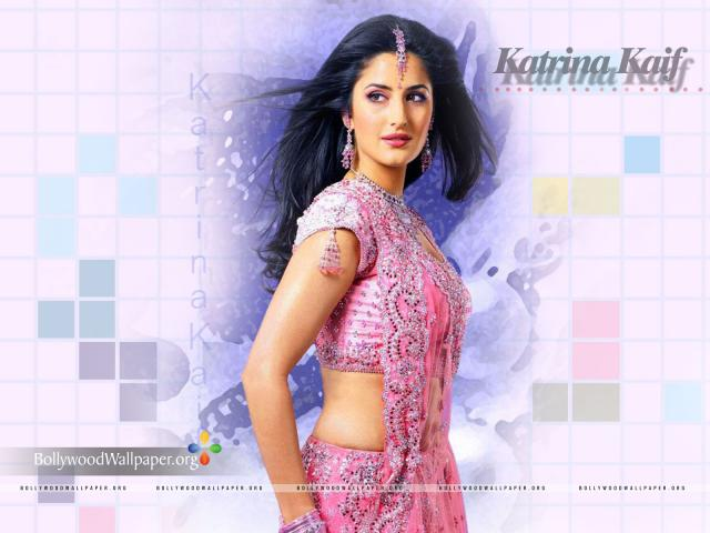 katrina wallpapers. Katrina Kaif in Indian Saree