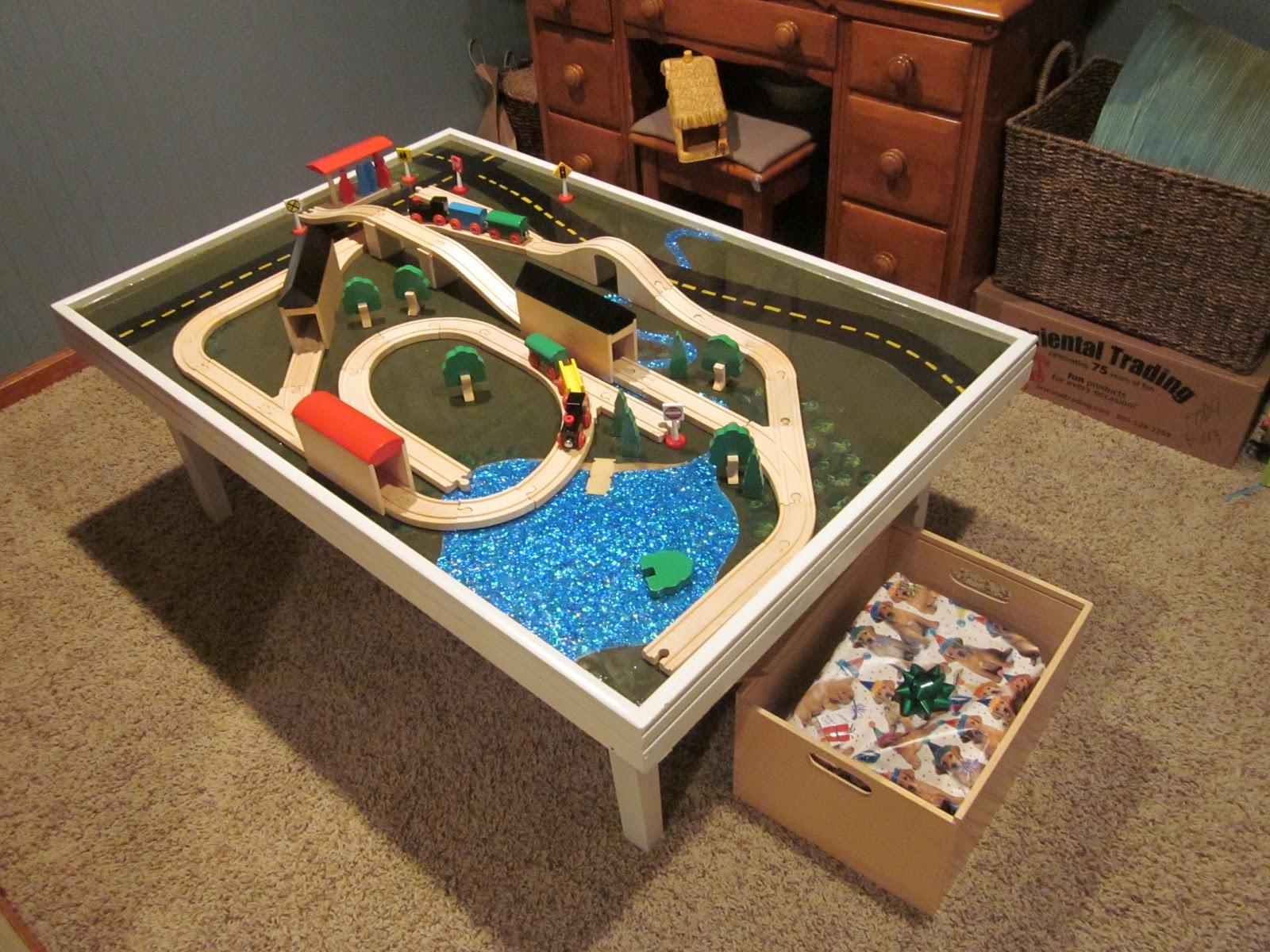 DIY Train Themed Birthday Party!