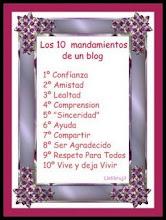 LOS 10 MANDAMIENTOS DE TU BLOG.
