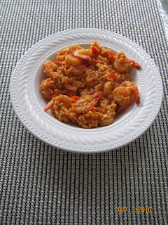 International cooking colombian rice with shrimp arroz con camarones i made this recipe to take to my bookclub meeting today we read the book love in the time of cholera and it is set in a latin american country forumfinder Gallery
