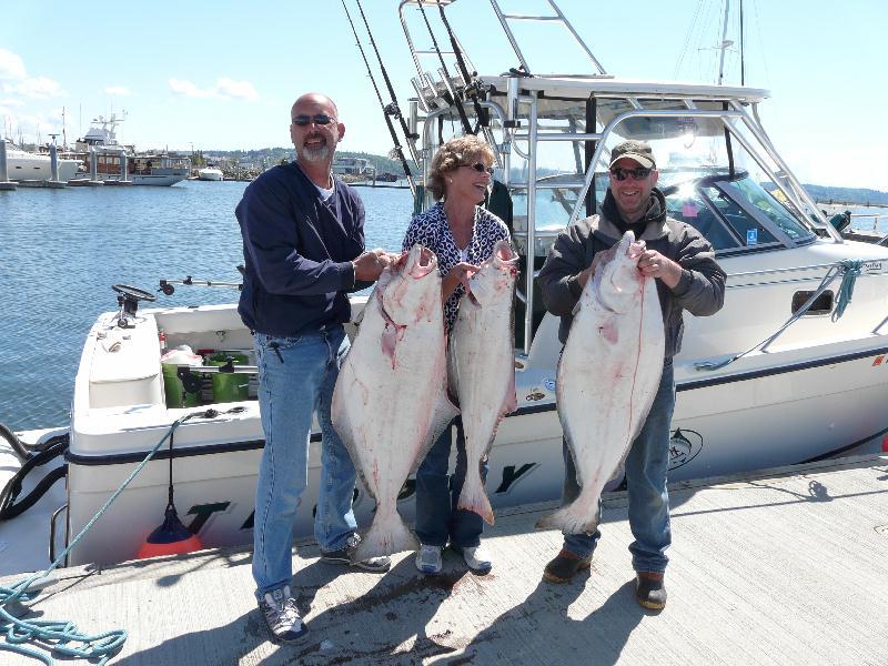 Northwest salmon and steelhead fishing weekend halibut for Whidbey island fishing
