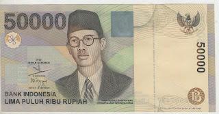 uang kuno, Indonesia,uang, koleksi,Rp, Uang Kuno,koin, mata uang, Seri,kertas, seri, Koleksi, Museum, harga,50.000 Rupiah WR Soepratman